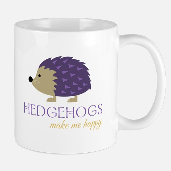 Happy Hedgehogs Mugs