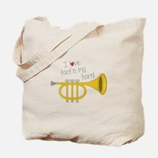 Tootn My Horn Tote Bag