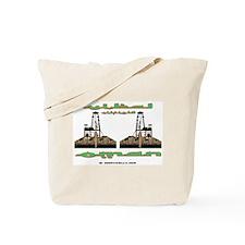 Yibal Oilfield Oman Tote Bag
