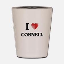 I love Cornell Shot Glass