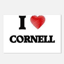 I love Cornell Postcards (Package of 8)