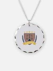 Criminal Justice Emblem Necklace