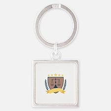 Criminal Justice Emblem Keychains