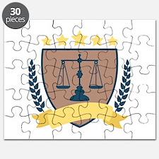 Criminal Justice Emblem Puzzle