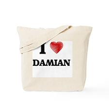 I love Damian Tote Bag