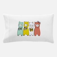 lama gathering Pillow Case