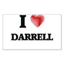 I love Darrell Decal