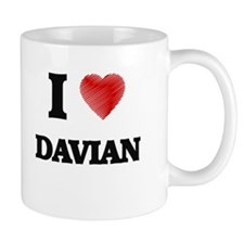 I love Davian Mugs