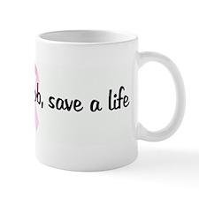 Squeeze a boob, save a life p Coffee Mug