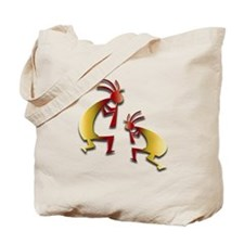 Honey Kokopelli Tote Bag