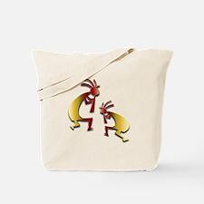 Honey Kokopelli Tote Bag