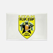 Utah Flip Cup State Champion Rectangle Magnet