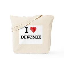 I love Devonte Tote Bag