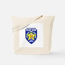 Utah Flip Cup State Champion Tote Bag