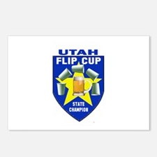 Utah Flip Cup State Champion Postcards (Package of