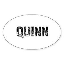 Quinn Oval Decal