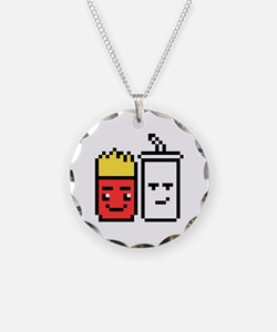 Funny 8 bit Necklace