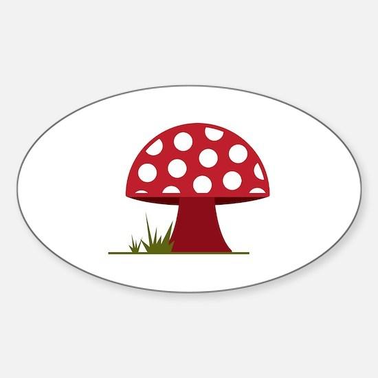 Mushroom Decal