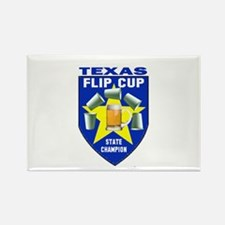 Texas Flip Cup State Champion Rectangle Magnet