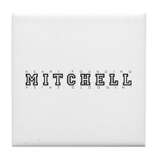 Mitchell - Heart/Veins Tile Coaster