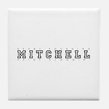 Mitchell - Heart/Veins Tile Coaster