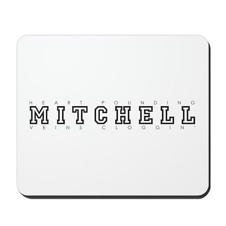 Mitchell - Heart/Veins Mousepad