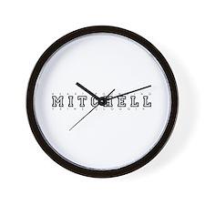 Mitchell - Heart/Veins Wall Clock