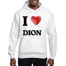I love Dion Jumper Hoody