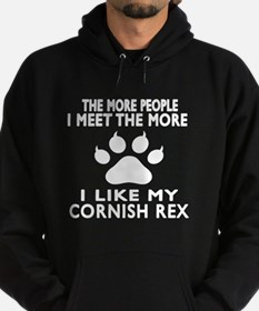 I Like My Cornish Rex Cat Hoodie