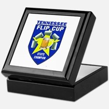 Tennessee Flip Cup State Cham Keepsake Box