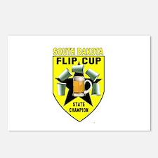 South Dakota Flip Cup State C Postcards (Package o
