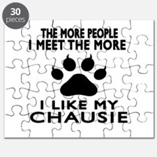 I Like My Chausie Cat Puzzle