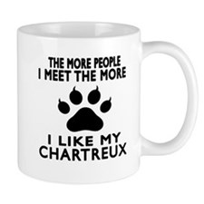 I Like My Chartreux Cat Small Mug