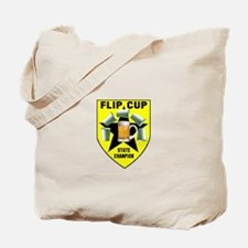 Flip Cup State Champion Tote Bag