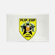 Flip Cup State Champion Rectangle Magnet