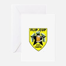 Flip Cup State Champion Greeting Cards (Pk of 10)