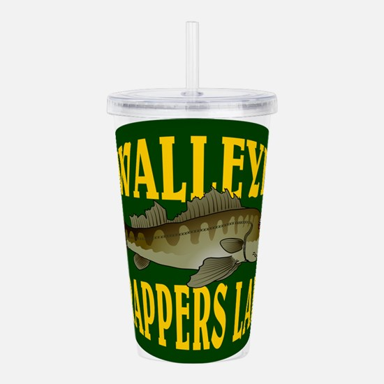 Walleye Trappers Lake Acrylic Double-wall Tumbler