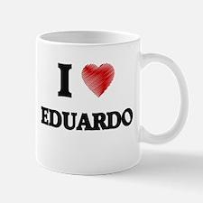 I love Eduardo Mugs