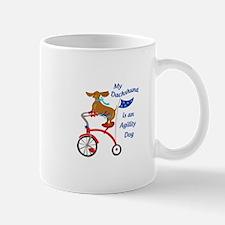 Dachshund Is Agility Dog Mugs