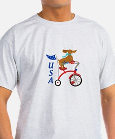 USA Dachshund T-Shirt