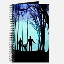 Family walk in the woods Journal