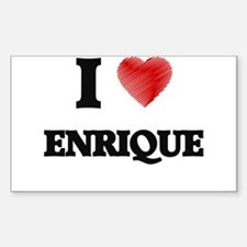 I love Enrique Bumper Stickers