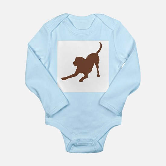 Lab 1 brown Body Suit