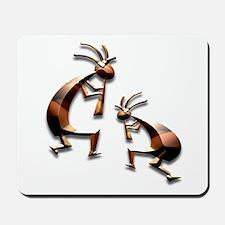 Bronze Kokopelli Mousepad