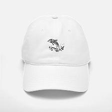 Tribal Dolphin Baseball Baseball Cap