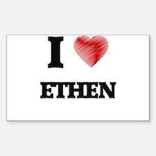 I love Ethen Decal