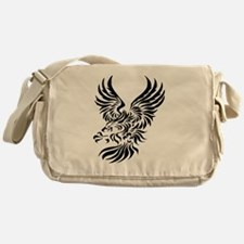 Tribal Eagle Messenger Bag