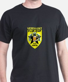 Vermont Flip Cup State Champi T-Shirt