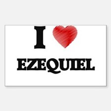 I love Ezequiel Decal