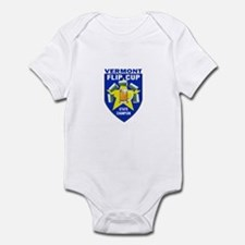 Vermont Flip Cup State Champi Infant Bodysuit